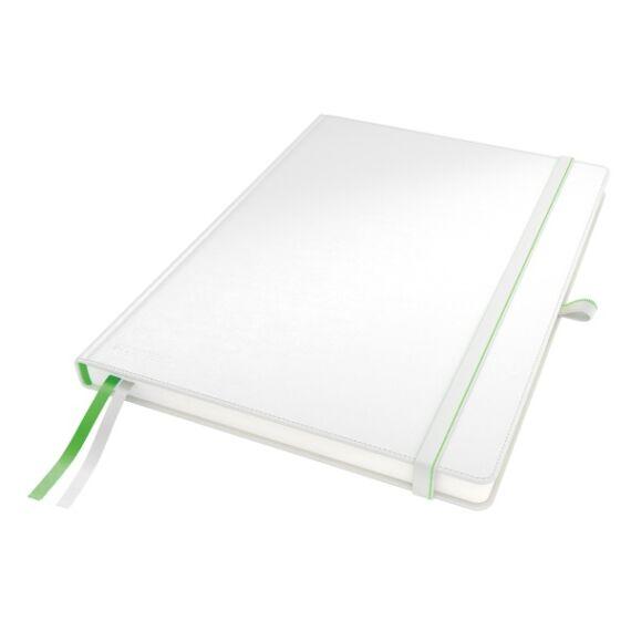 Jegyzetfüzet LEITZ Complete A/4 80 lapos kockás fehér