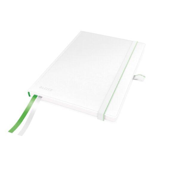 Jegyzetfüzet LEITZ Complete A/5 80 lapos kockás fehér
