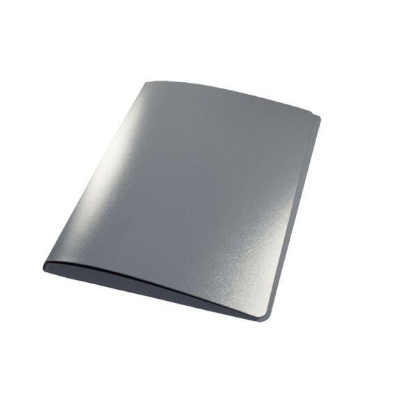 Gyűrűskönyv A/4 PP 20mm 2 gyűrű antracit