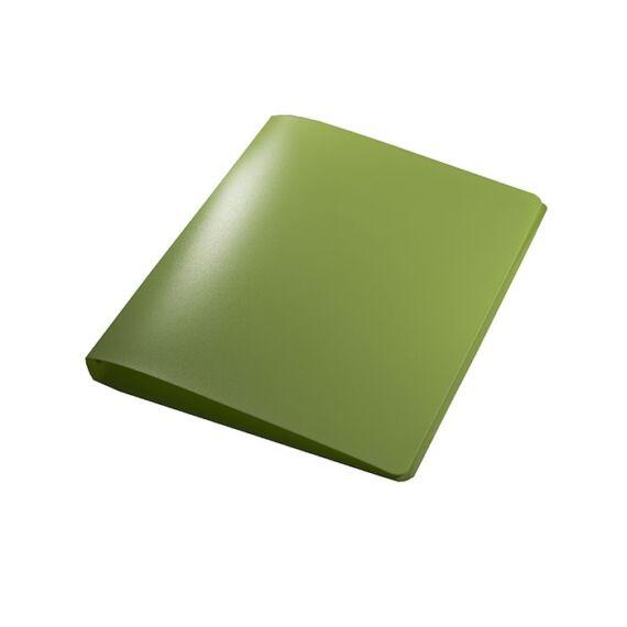 Gyűrűskönyv A/4 PP 20mm 2 gyűrű lime