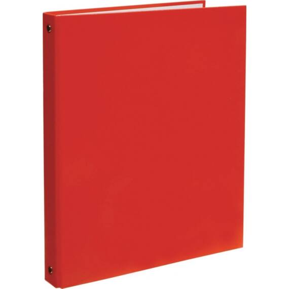 Gyűrűskönyv OPTIMA A/4 4 gyűrű 30mm piros