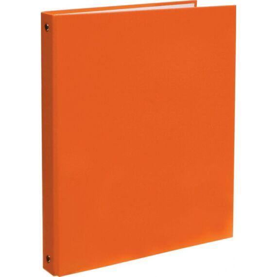Gyűrűskönyv OPTIMA A/4 4 gyűrű 30mm narancs