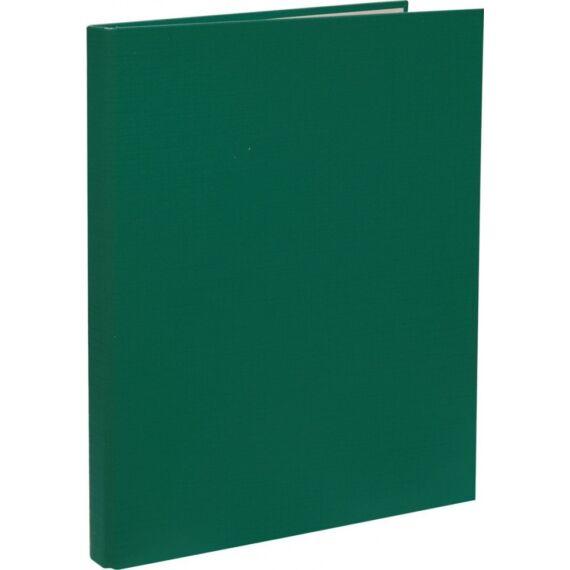 Mappa villámzáras OPTIMA A/4 karton zöld