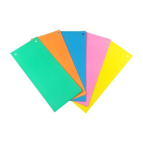 Elválasztócsík FORTUNA 105x235mm vegyes színekben 100 db/csomag